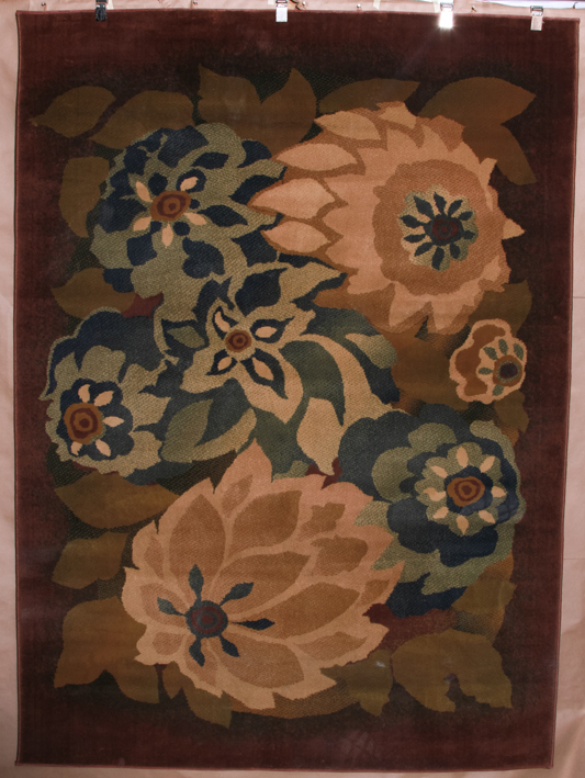 2-rug set Bob Mackie-$648.00...5ft7 x 7ft7 and 7ft8 x 10ft10, heat-set olefin